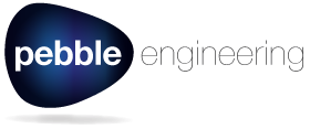 Pebble Engineering logo